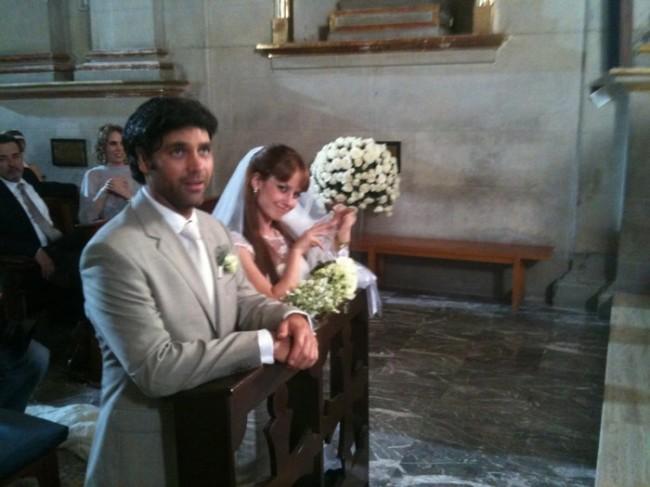 valentino lanus llena de amor. la boda en Llena de amor.